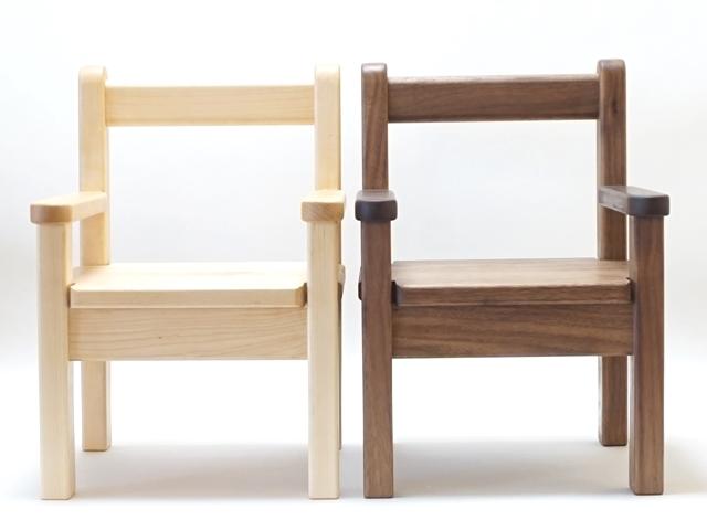 ひじ付椅子色比較