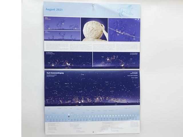 星座のカレンダー2021