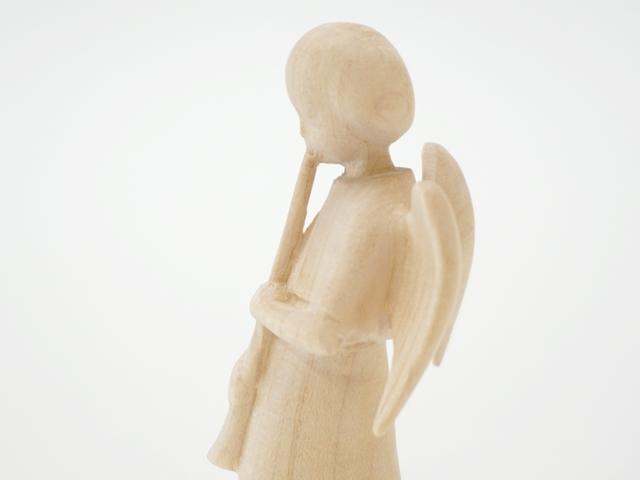 木の天使・ホルン・側面上部