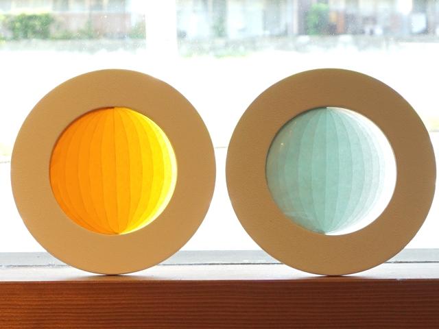 月の満ち欠けキットグラスとレモン