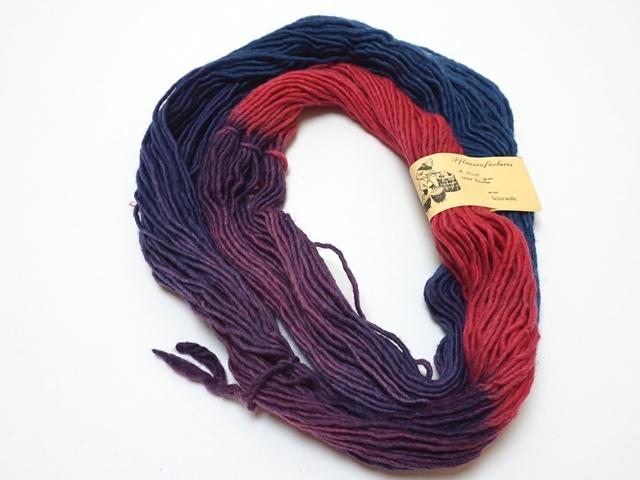 毛糸ベリーレッド系