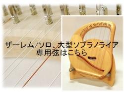 ザーレムソロ、大型ソプラノ用弦