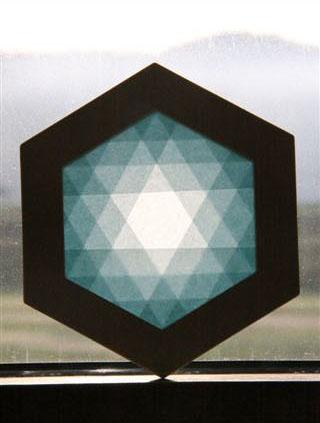 六角形枠のトランスパレント
