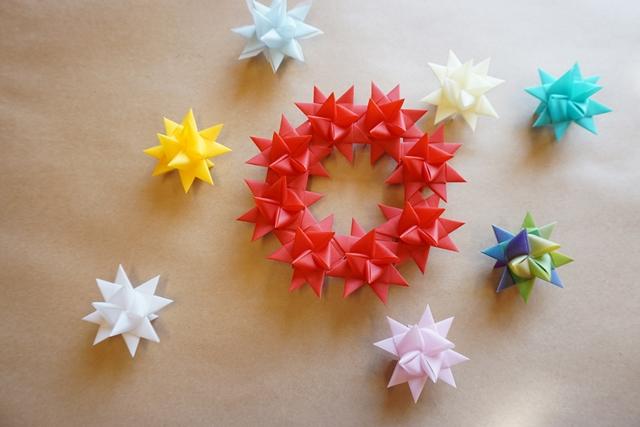 フレーベルの星飾りの作り方