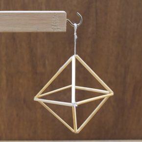基本のヒンメリ(正八面体)の作り方~これから始める初心者の方向け~